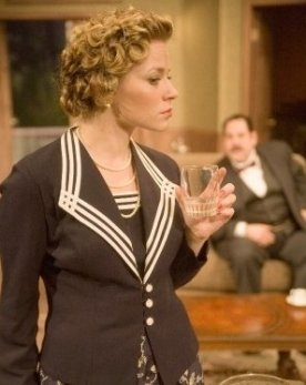 On-stage in Agatha Christie's Black Coffee