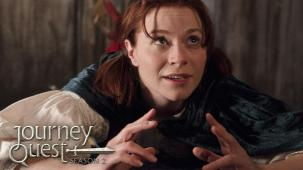 Wren Birdsong, Production Still from JourneyQuest season 2